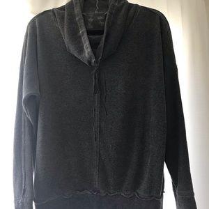 Young Fabulous & Broke Charcoal Sweatshirt